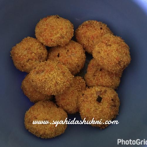 Nugget Ayam homemade yang sedap dan berkhasiat