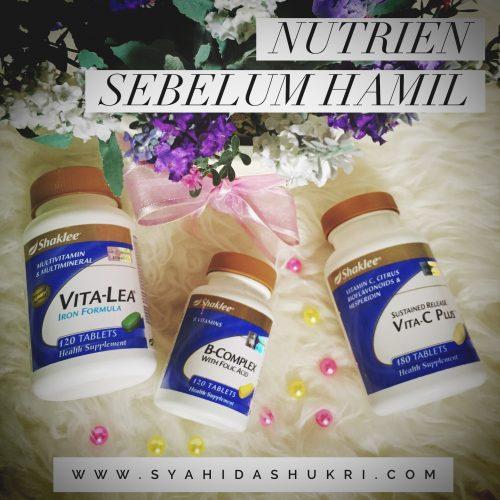 Nutrien Yang Penting Sebelum Hamil
