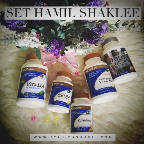 Set Hamil Shaklee