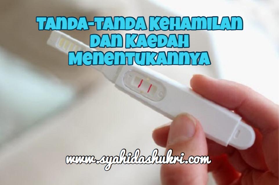 Tanda-tanda kehamilan