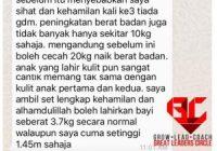 Testimoni Set Hamil Shaklee untuk Diabetes