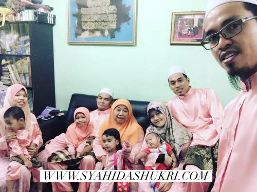 Sambut raya bersama keluarga mertua