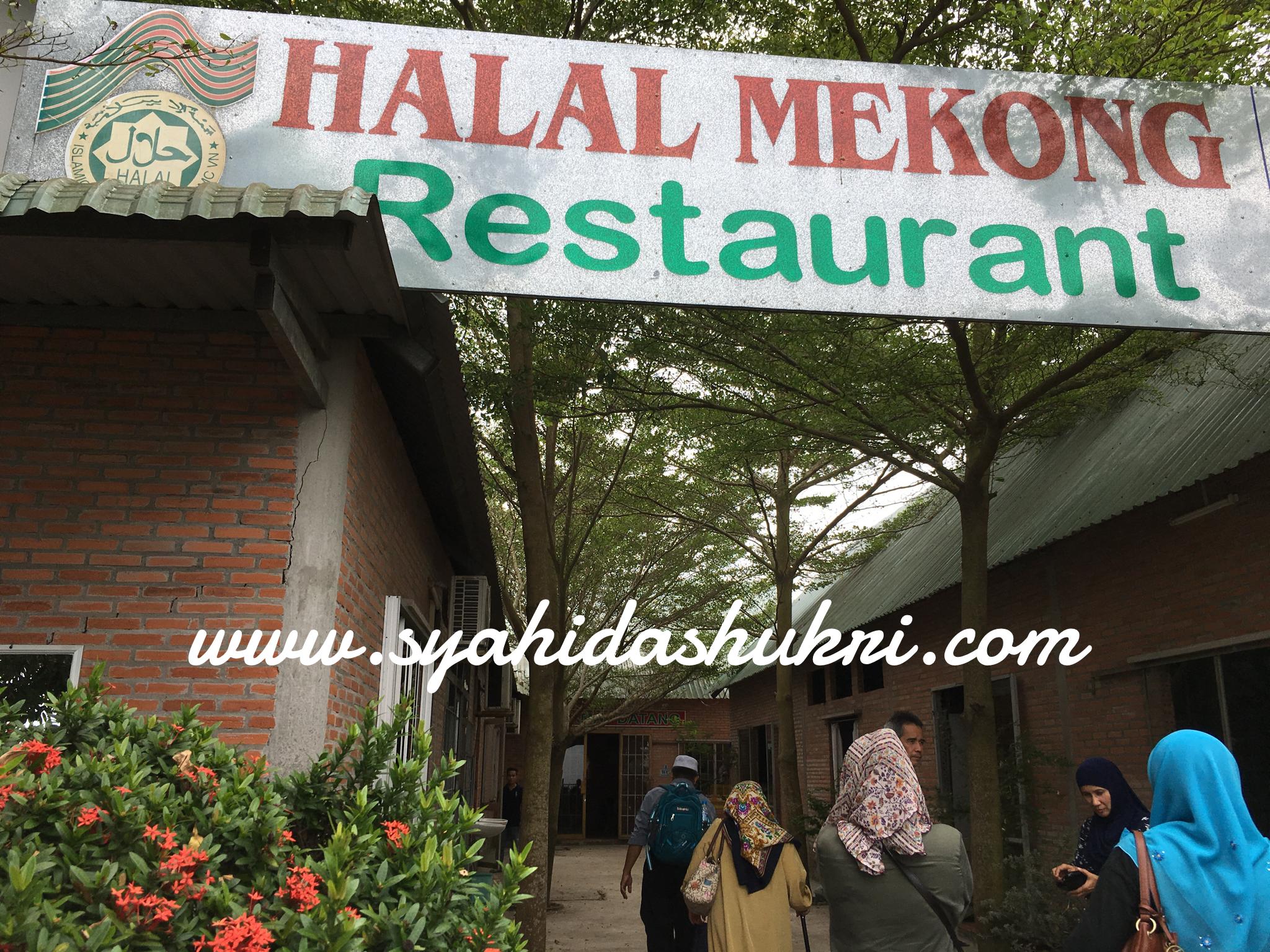 Di Restoran Halal Mekong, Sungai Mekong