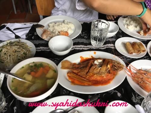 Menu-menu sedap di Restoran Halal Mekong