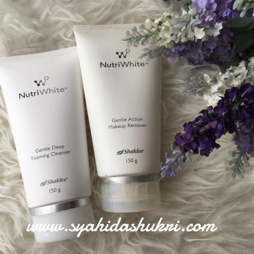 Nutriwhite : Cleanser & Make-up Remover