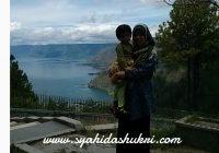 Pengalaman travelog : Pemandangan di Lake Toba, Sepiso-piso