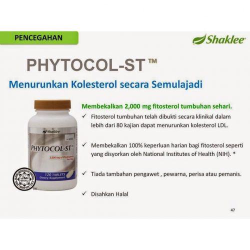 Set Kolestrol Shaklee : Phytocol-ST