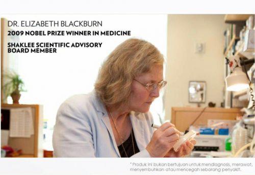 Pemenang Nobel Antarabangsa, Dr. Elizabeth Blackburn dan keputusan dalam Telomere Study