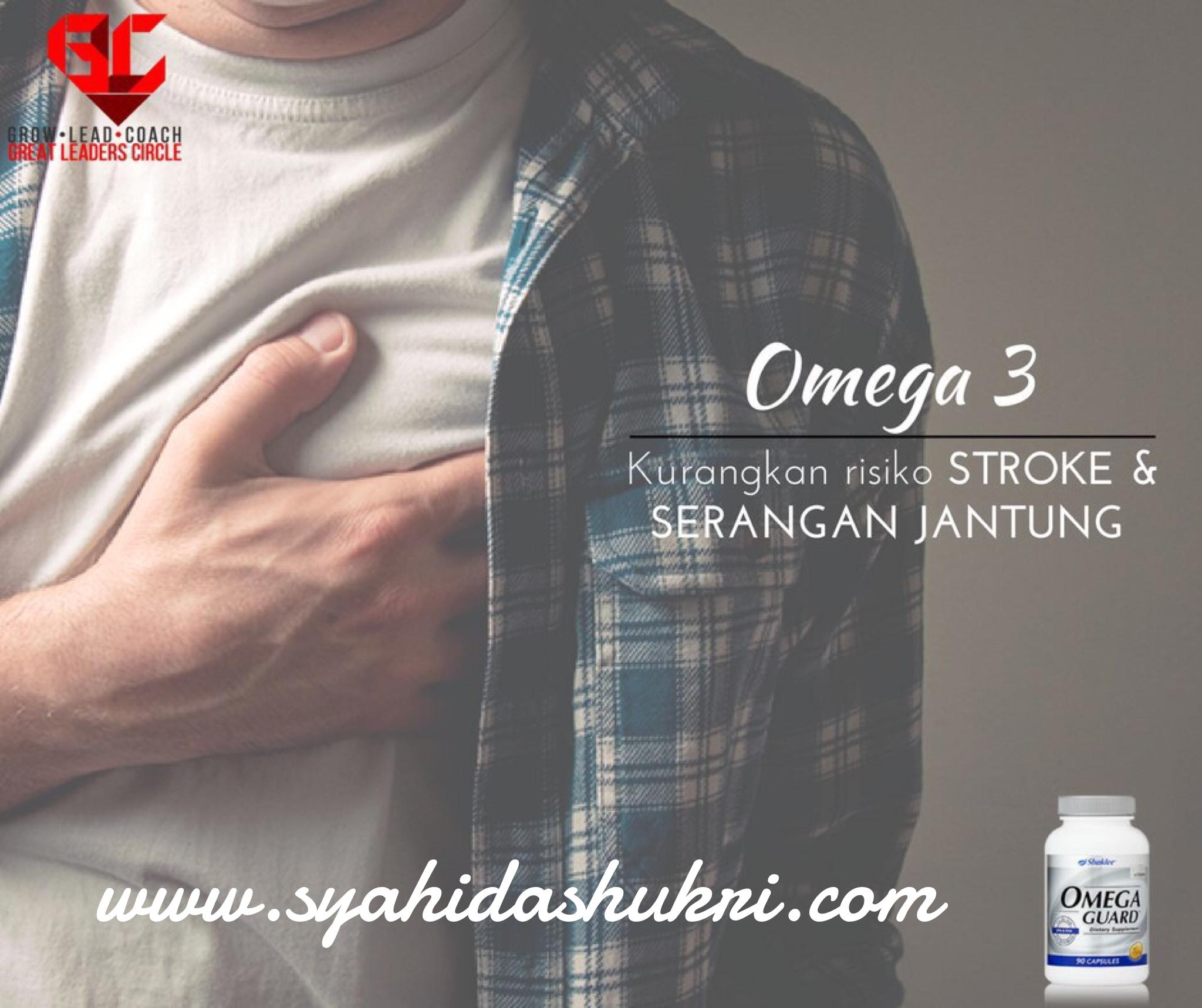 Omega-3 sangat baik untuk kesihatan jantung