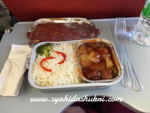 Travelog ke Jepun (Day 1) : Makanan yang saya pre-order