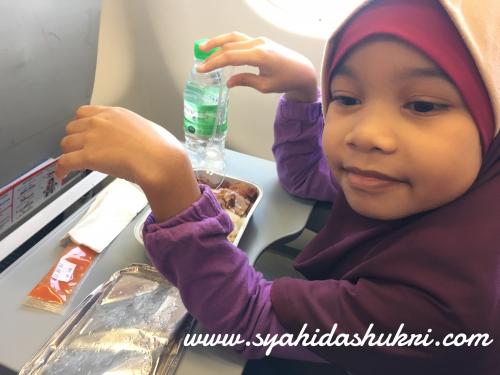 Travelog ke Jepun (Day 1) : Makanan yang saya pre-order untuk anak