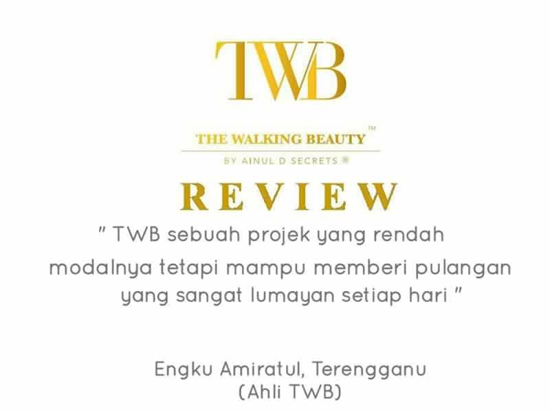 Testimoni peserta-peserta Kursus Usahawan Spa The Walking Beauty