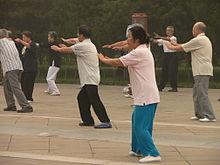 Tai Chi sebagai senaman untuk jantung sihat.