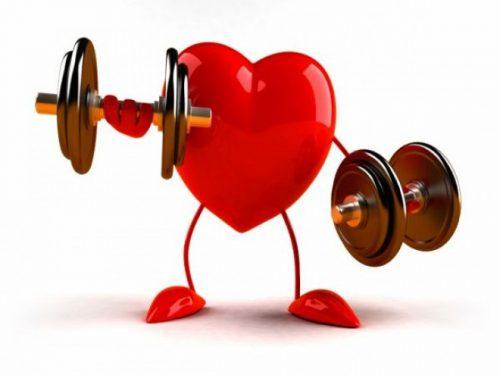 Jenis-jenis senaman untuk jantung yang sihat.
