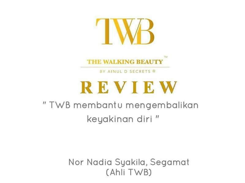 "Testimoni Peserta Kursus Mobile Spa ""The Walking Beauty"""