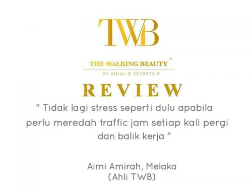"Testimoni Peserta Kursus Mobile Spa ""The Walking Beauty"""