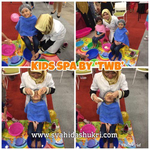 Demo Kids Spa dalam Majlis Perasmian Baby and Kids Spa