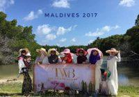 Team TWB bercuti ke Maldives pada tahun 2017