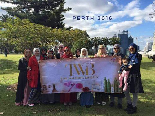 Team TWB bercuti ke Perth pada tahun 2016