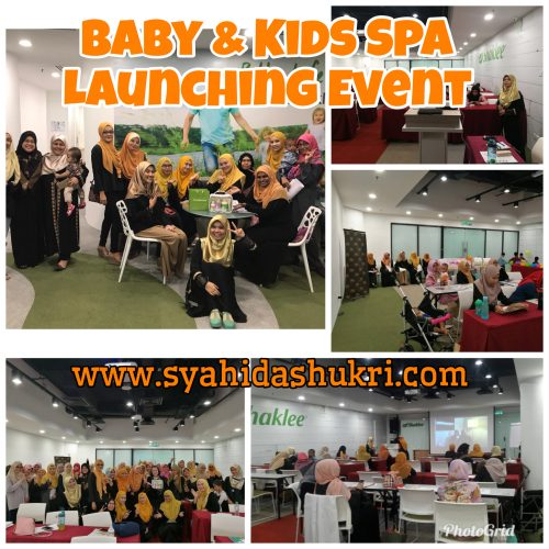 Perasmian Baby and Kids Spa