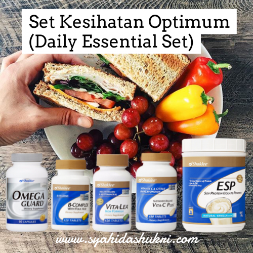 Set Kesihatan Optimum Shaklee (Daily Essential Set)
