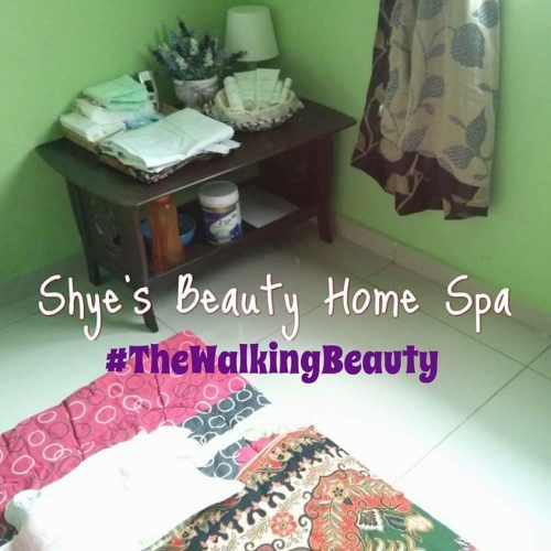 Home Spa saya di rumah. Simple je kan!