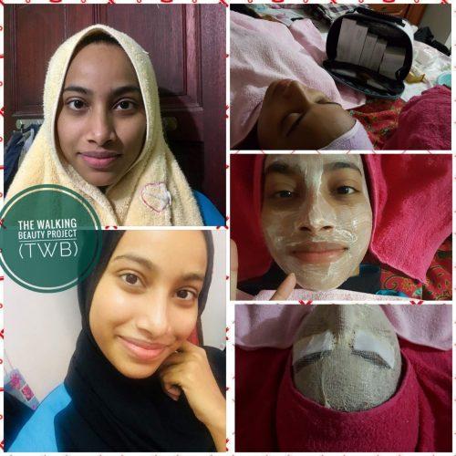 Testimoni facial dengan spa TWB