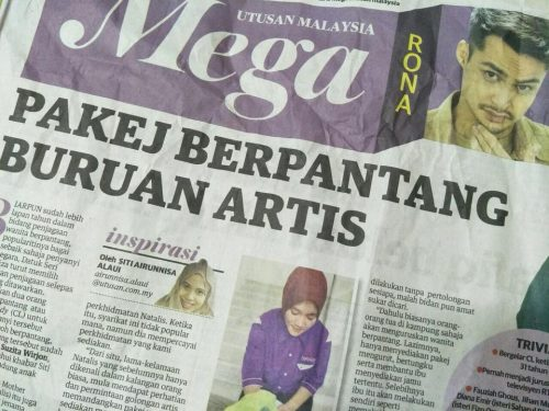 Pakej Berpantang kini menjadi buruan artis