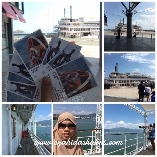 Michigan Cruise di Biwako Lake, Shiga Perfecture.