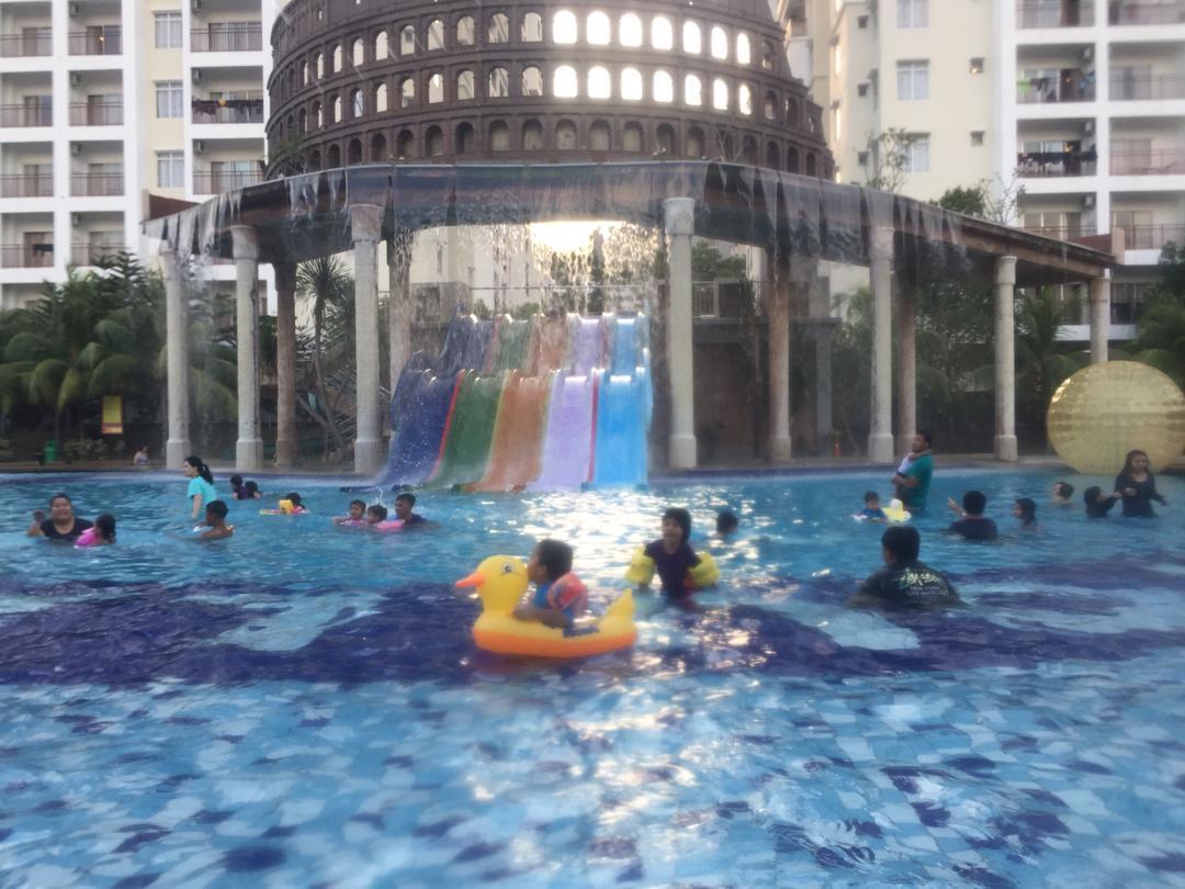 Mandi-manda di Bayou Lagoon Resort, Melaka