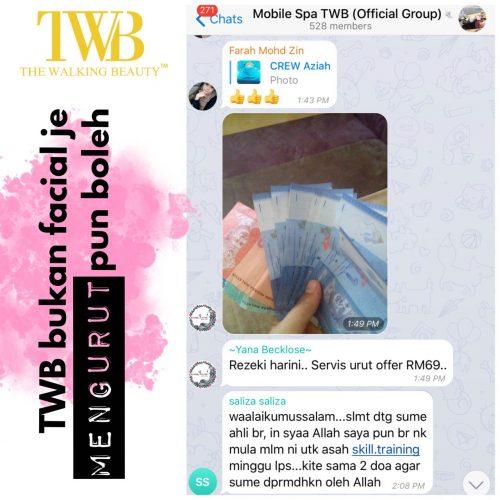 Testimoni peserta kursus berpantang TWB
