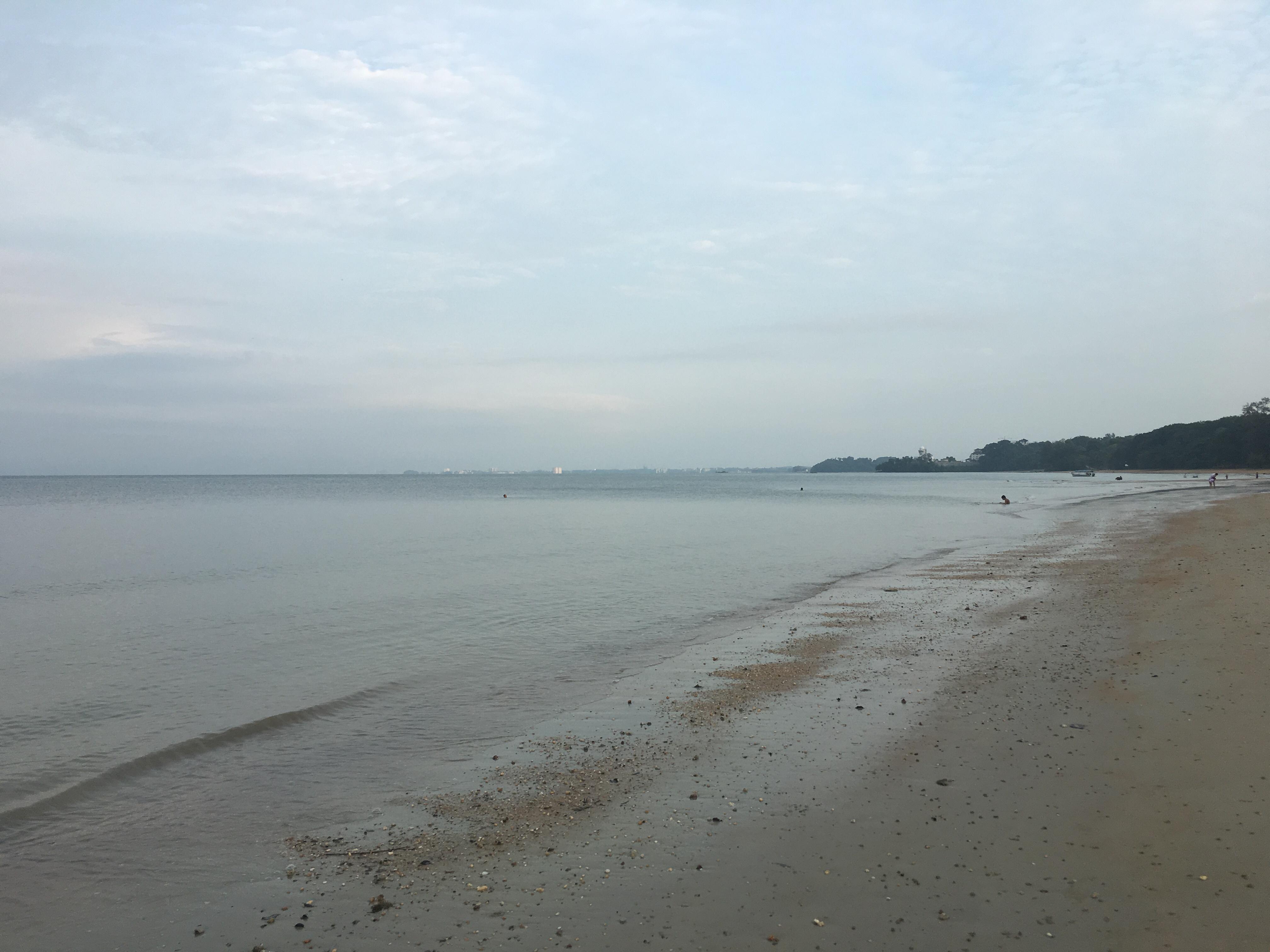 Pantai di Rumah Penginapan TNB