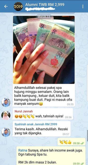 Surirumah boleh buat duit ketika pulang ke kampung!