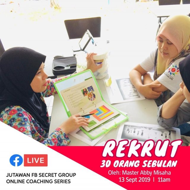 Team Jutawan online sharing.