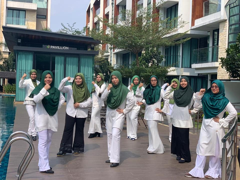 Barisan Master Coordinators dalam Team Jutawan Shaklee