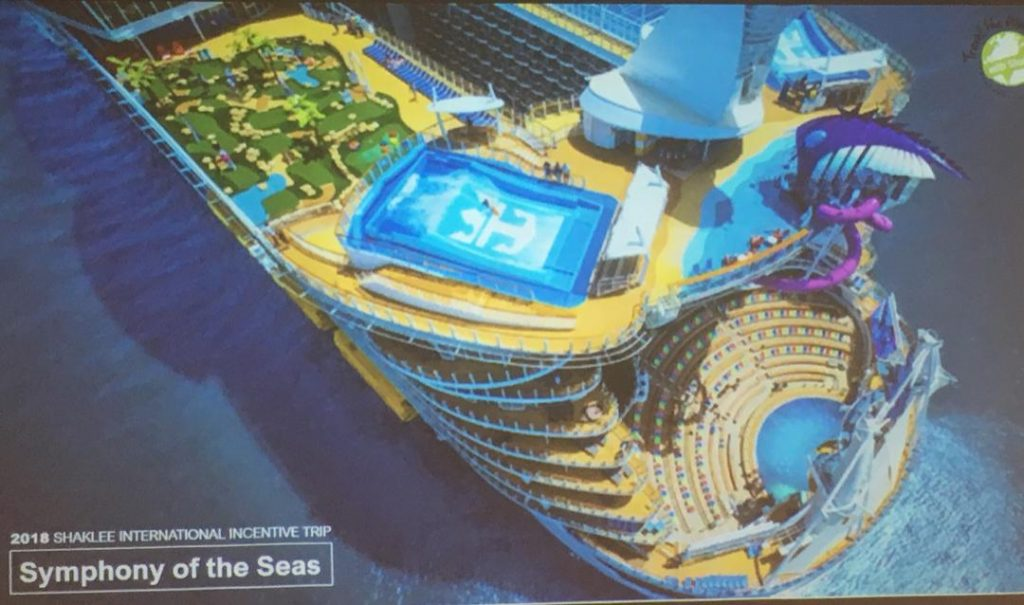 Incentive Trip Shaklee : Symphony of the Seas