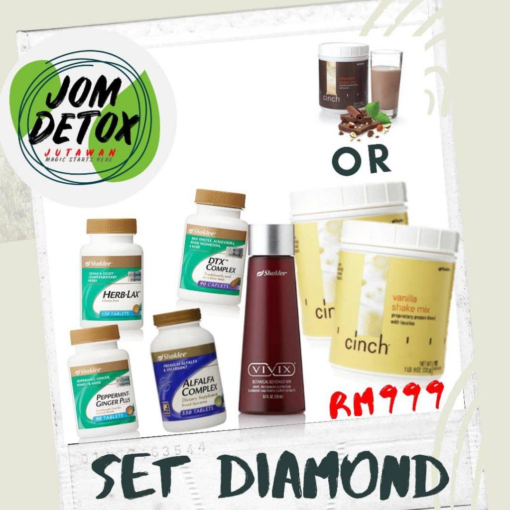 Jana side income dengan Jom Detox Jutawan.