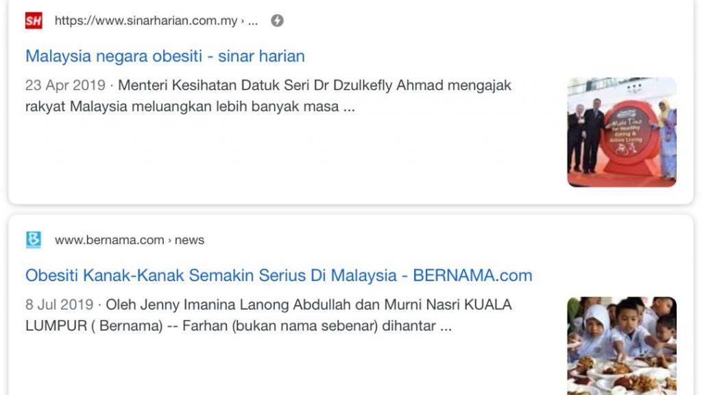 Malaysia Negara Paling Gemuk