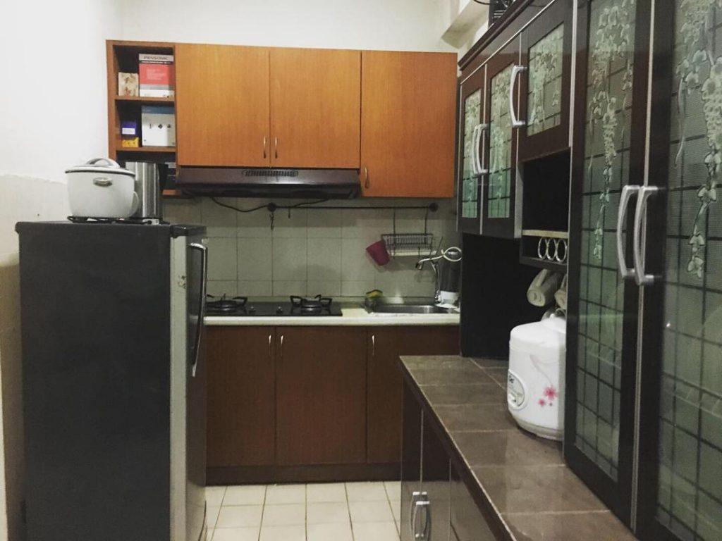 Pandangan dapur.