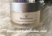 Nutriwhite : Night Cream